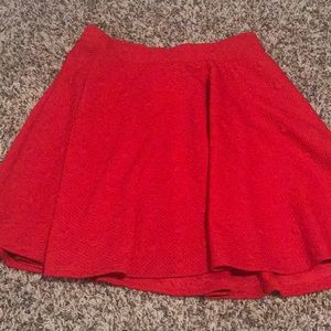 Lauren Conrad Minnie Mouse Collection Skirt